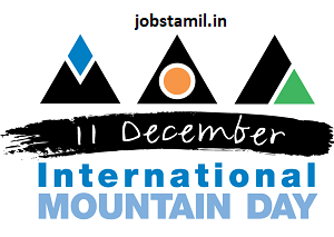 International Mountains Day December 11th