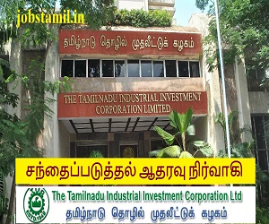 TIIC Recruitment Chennai Tamil Nadu Jobs