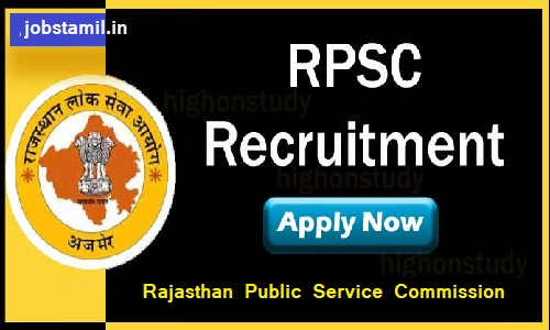 Rajasthan Public Service Commission Jobs Notification